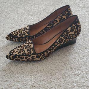 Nine West nwnatalina calf hair loafer size 7.5